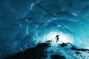 Caverne glace
